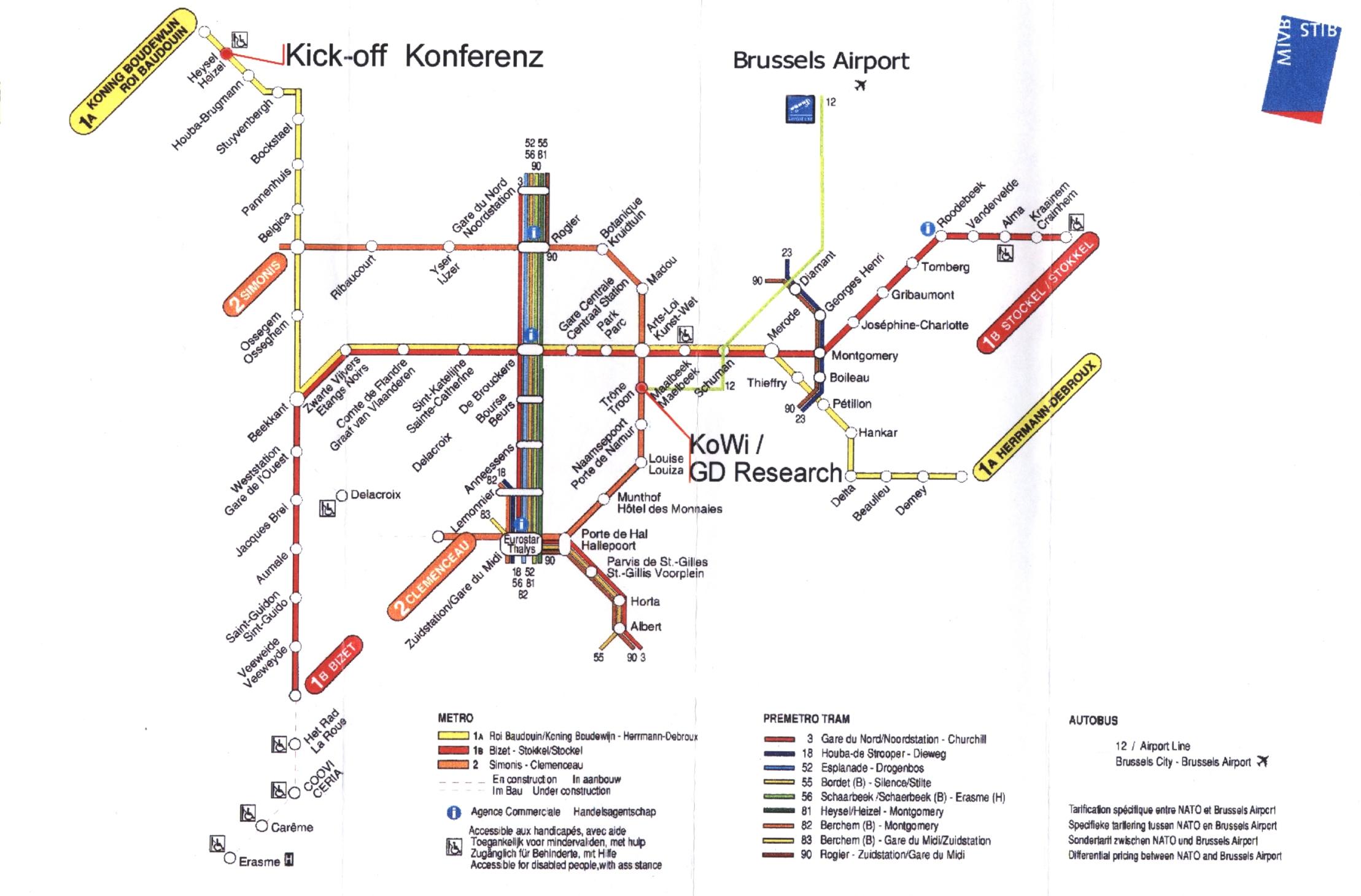 Venice Subway Map