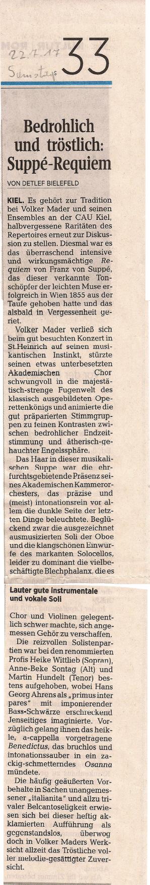 Konzertkritik