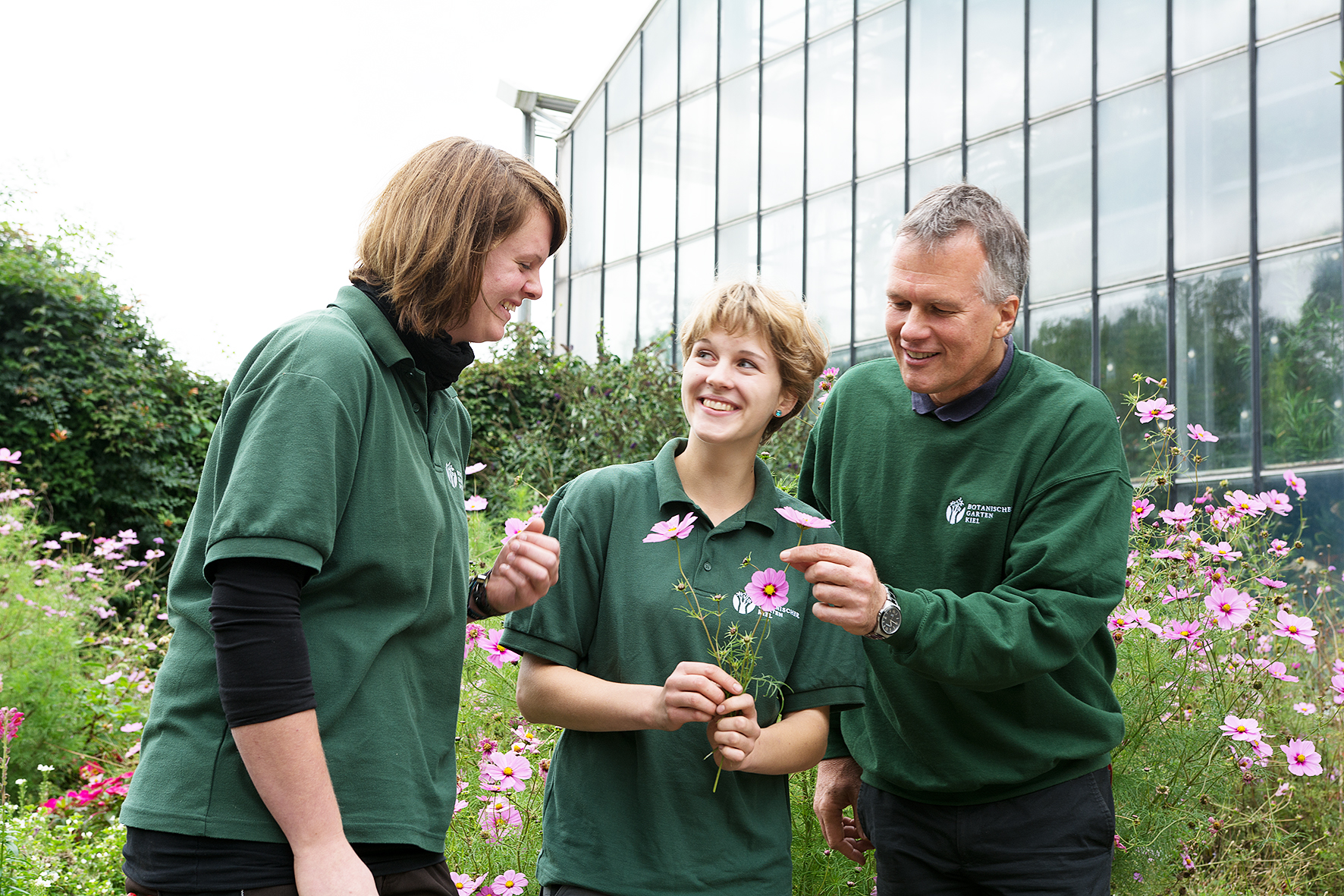 Uni kiel beste g rtnerinnen im botanischen garten - Gartenbau kiel ...