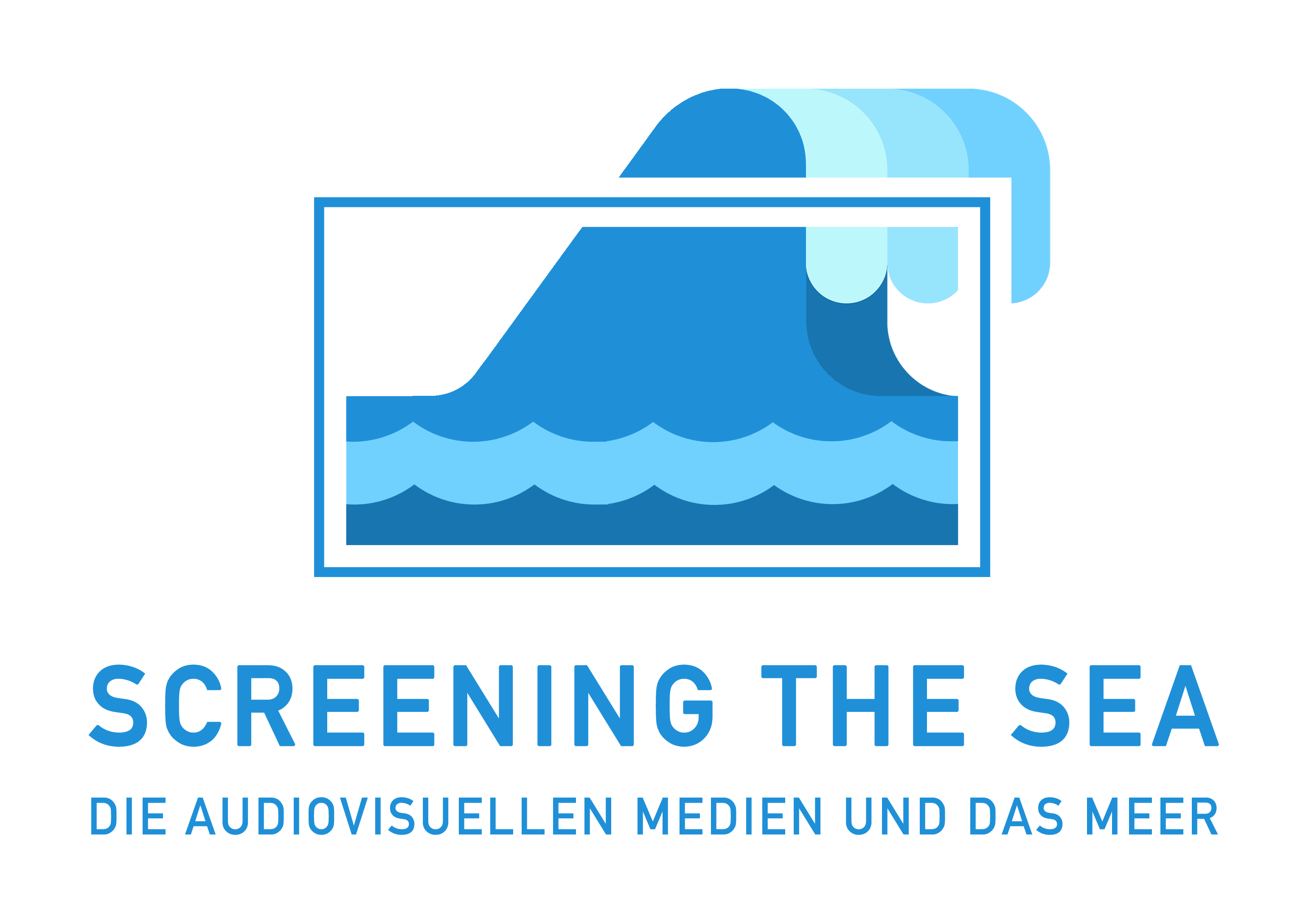 Conference-logo »Screening The Sea«