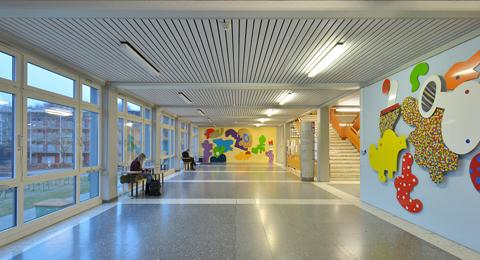 Flur Seminargebäude 3 Olshausenstraße 75