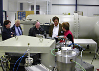 Visit to the Leibniz Laboratory for Radiometric Dating and Stable Isotope Research