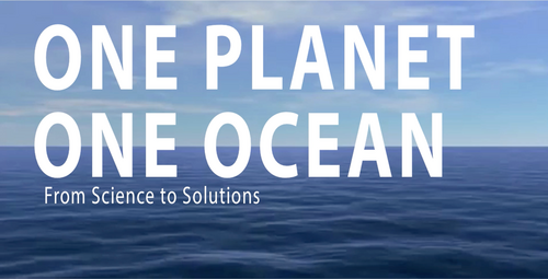 Plakat: One Planet One Ocean. From Science to Solutions