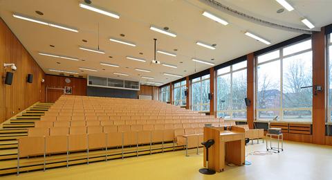Hans Heinrich Driftmann Hörsaal (ehem. Hörsaal 3) Olshausenstraße 75