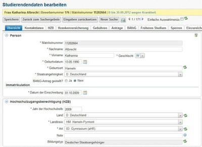 Screenshot HISinOne 4